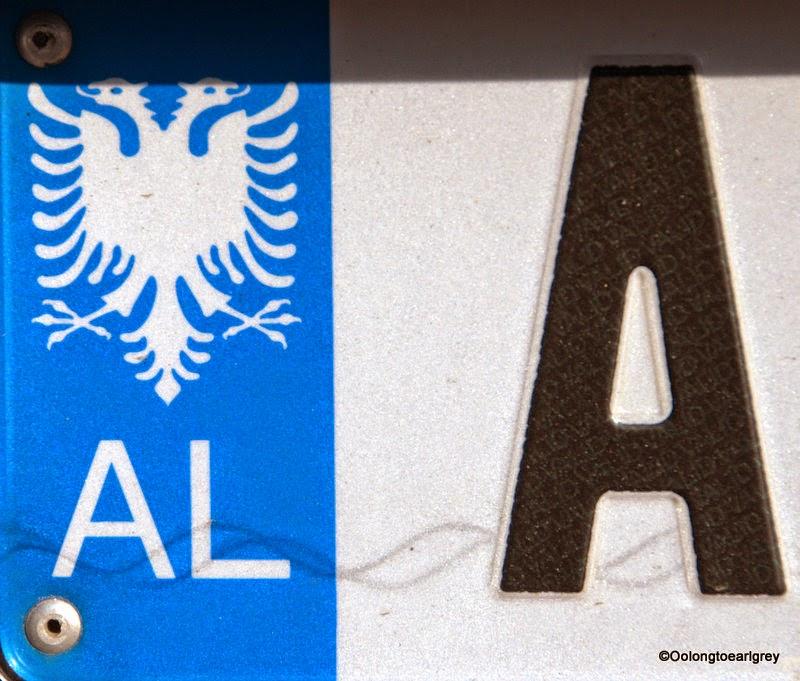 European Numberplate: Albania
