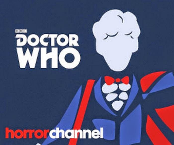 Doctor Who on the Horror Channel logo