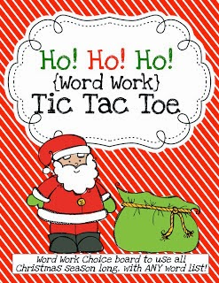 http://www.teacherspayteachers.com/Product/Ho-Ho-Ho-Word-Work-Tic-Tac-Toe-432174