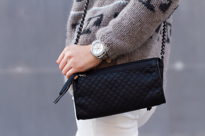 Zara Mini bag in black leather