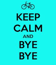 Bye Bye challenge