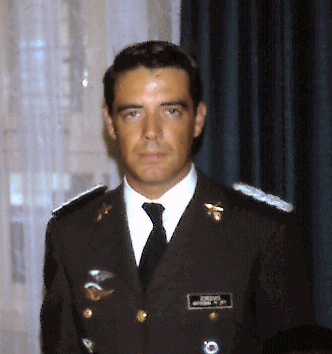 Teniente 1º Héctor Cáceres