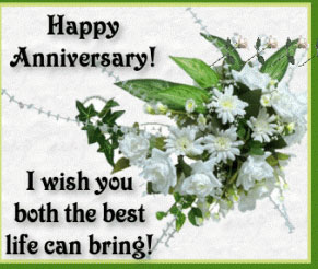 wedding anniversary greeting