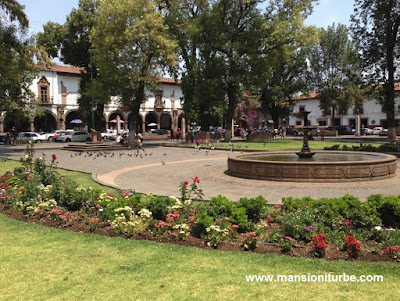 Vasco de Quiroga Square in Pátzcuaro