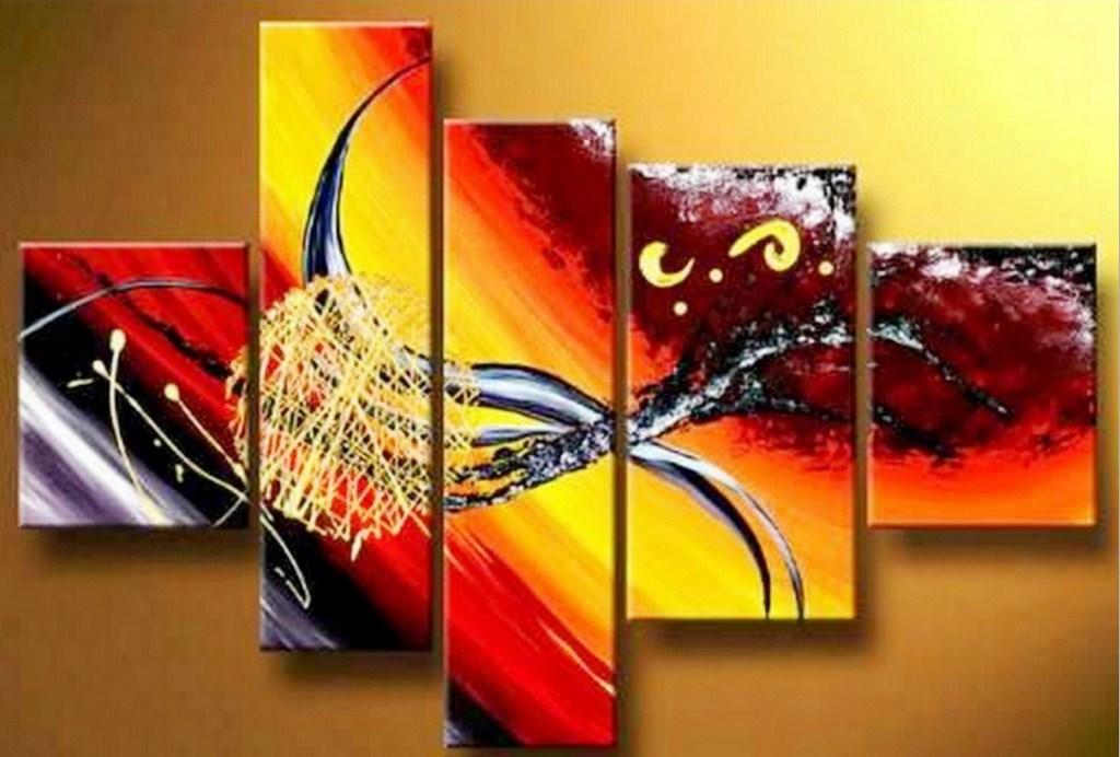 Cuadros modernos pintura moderna al leo - Cuadros pintura acrilica moderna ...
