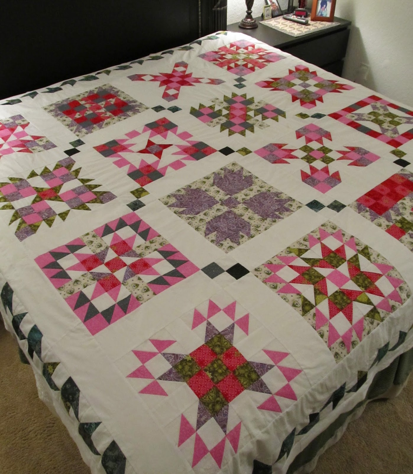 Tutorial on how to make a quilt block by The Quilt Ladies