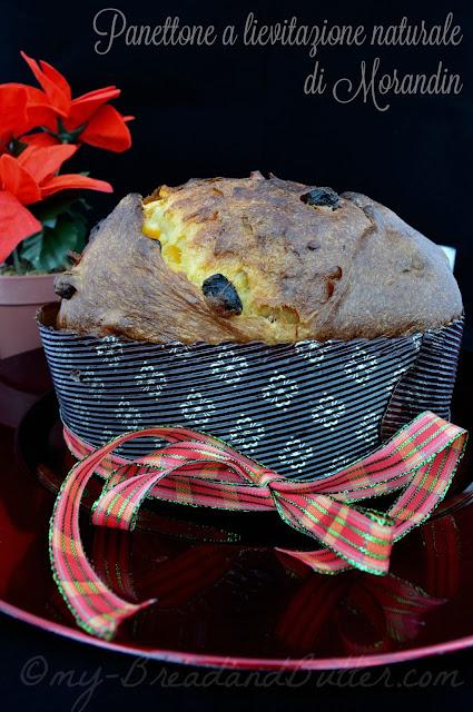 Panettone con uetta e canditi a lievitazione naturale