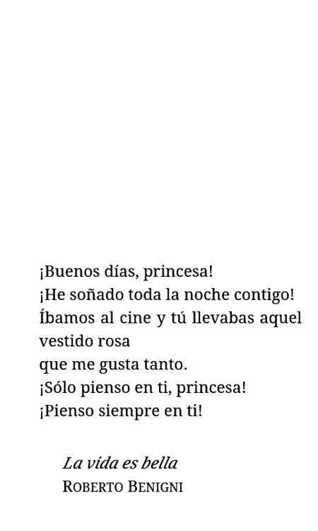 """""""La vida es (b)ella."""""""