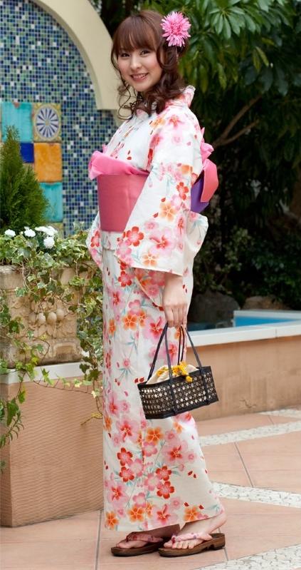 Japanese Women's Kimono Yukata