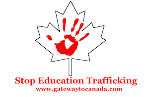 Stop Education Trafficking!