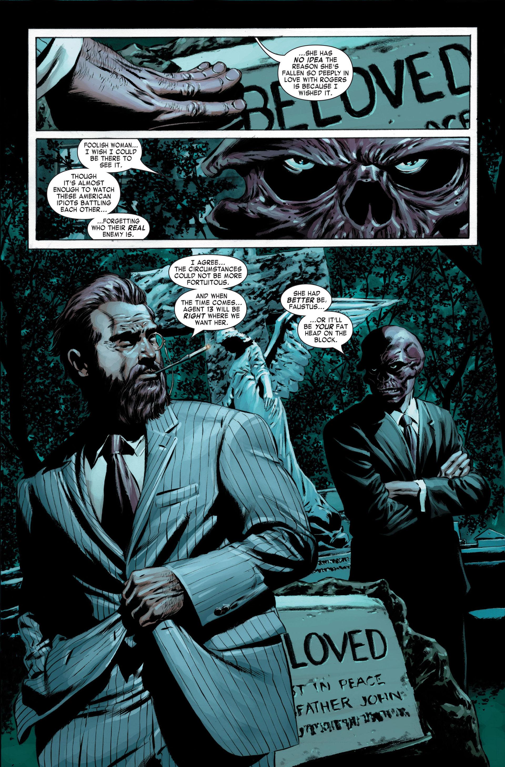 Captain America (2005) Issue #22 #22 - English 23