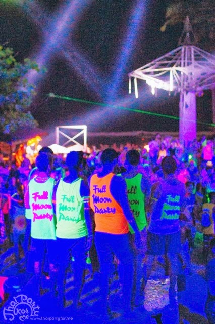 Hansa stage Full Moon Party Koh Phangan