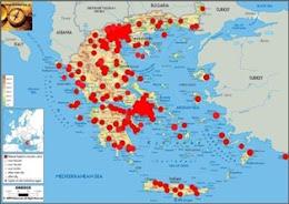 Επισκέπτες από 211 Ελληνικές πόλεις