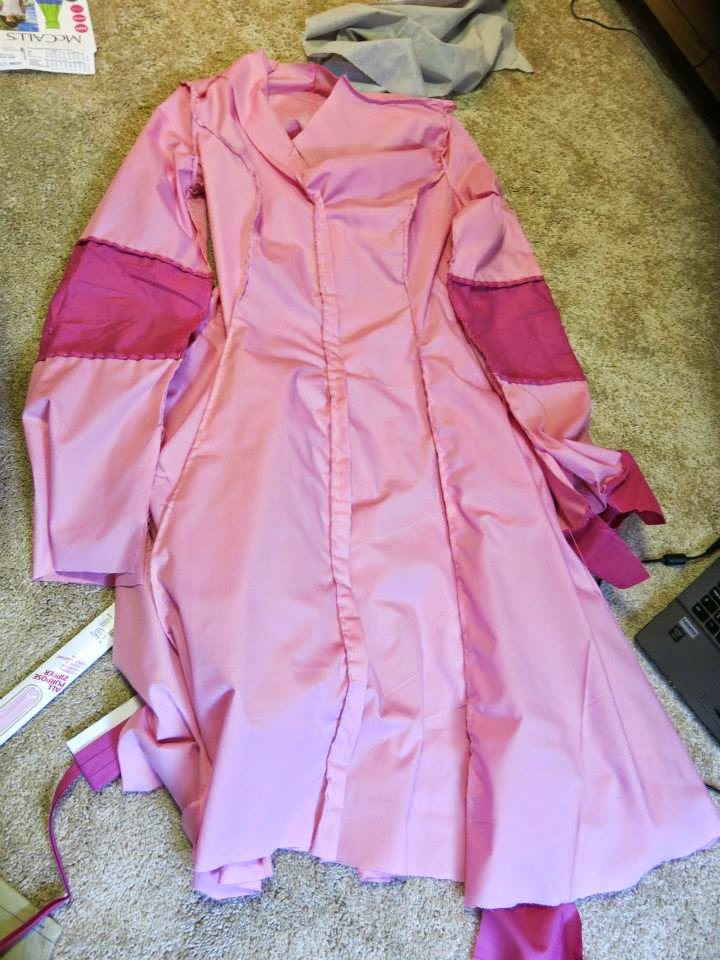 Pokemon Gijinka Chansey Cosplay Construction