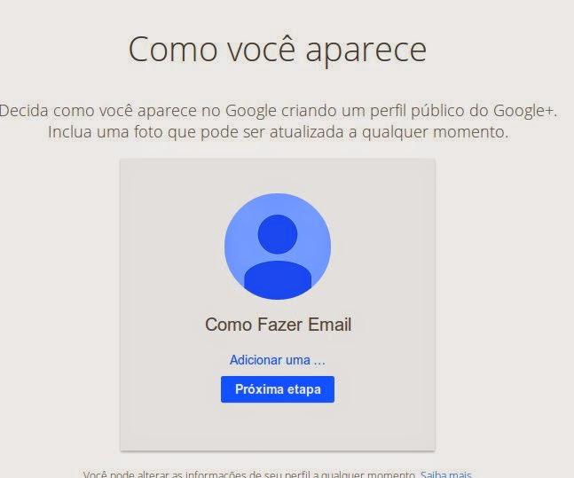 Criar email no gmail gratuito