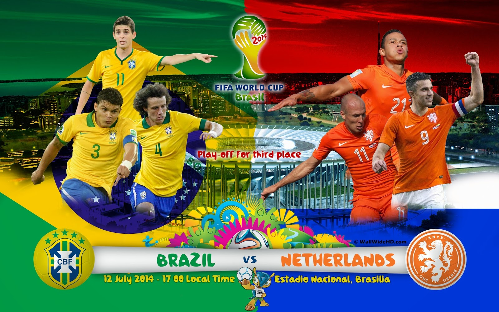 Brazil-vs-Netherlands-2014-World-Cup for Third place
