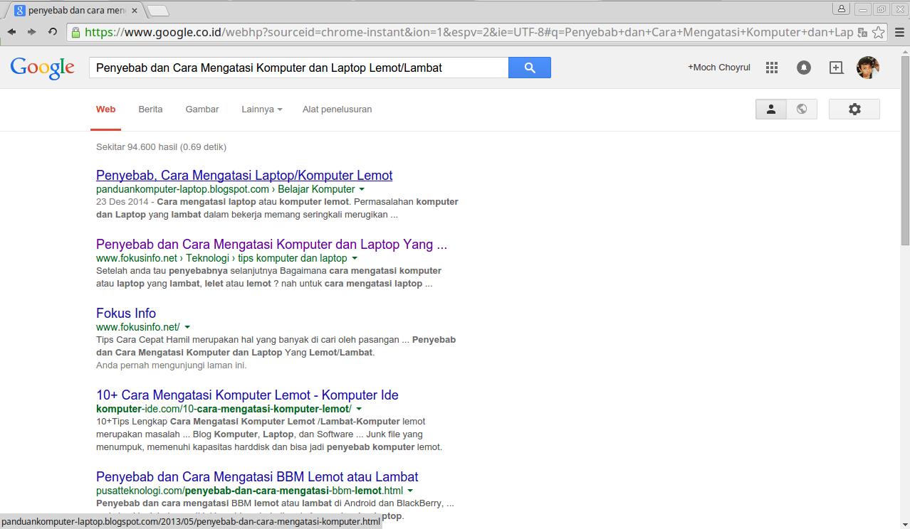 Cara Print Halaman Web ke Bentuk Pdf di Google Chrome