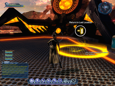 DC Universe Online - Instance Exit Portal