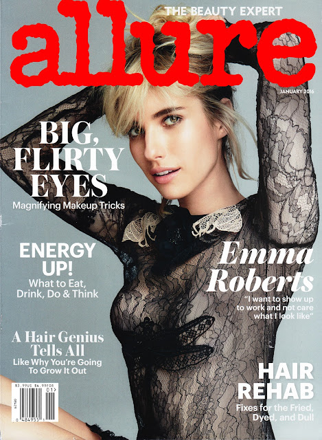 Actress, Singer, @ Emma Roberts - Allure magazine, January 2016
