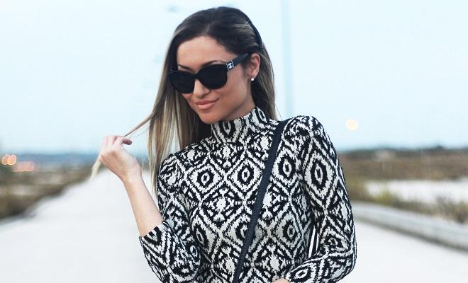 O primeiro artigo de 2016 é sobre o Look do dia, com um vestido especial, elegante e moderno (tal como eu gosto)! Outfit. Dicas de moda e imagem. Style Statement. Blog de moda portugal. Natal, Ano Novo 2016, Aniversário.