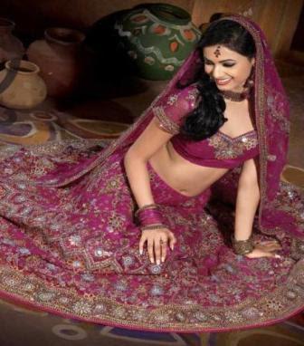 Hindi White Wedding Dress
