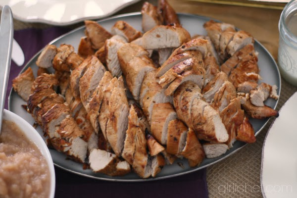 Turkey Tenderloins with Madeira Gravy | www.girlichef.com
