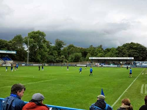 Stockport County v Stalybridge Celtic.