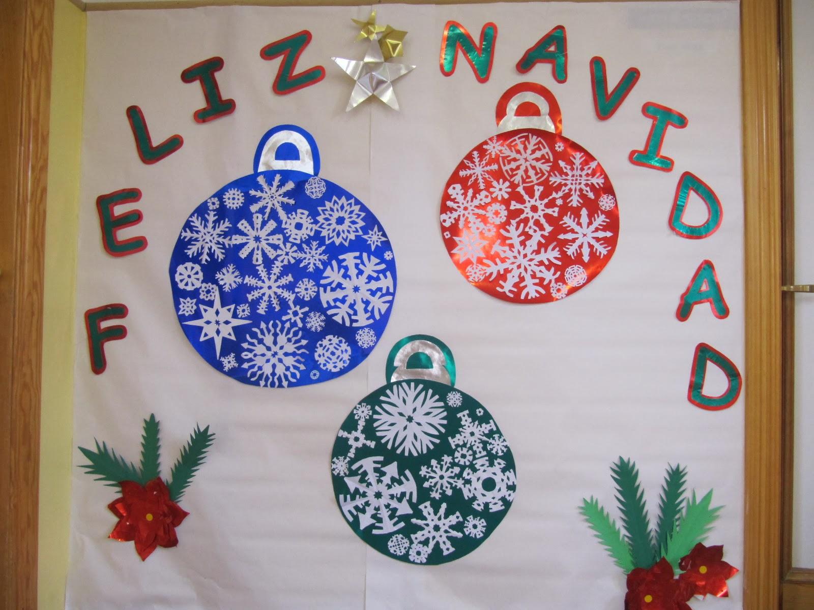 Cosicas y m s diciembre 2013 for Mural navideno