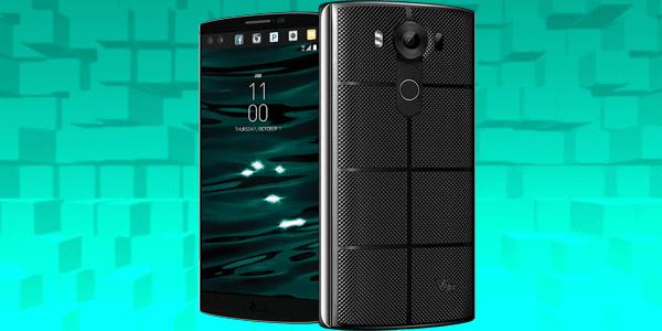 تدقيق في هاتف LG V10 (هاتف بثلاث كاميرات احترافية وشاشتان)