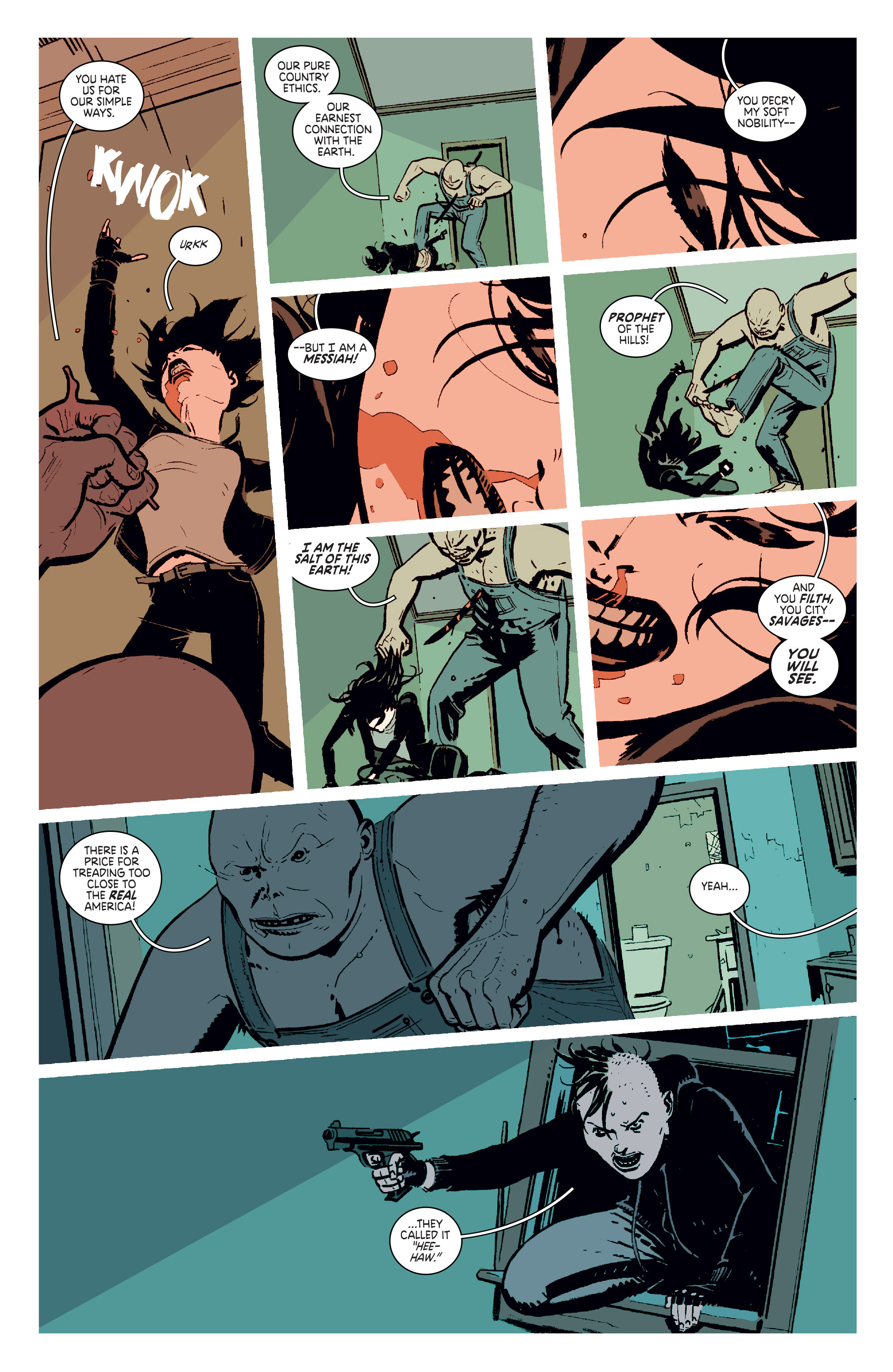 Read online Deadly Class comic -  Issue #11 - 17