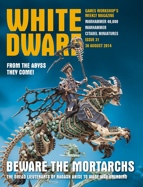 Todo el contenido de la White Dwarf Weekly número 31