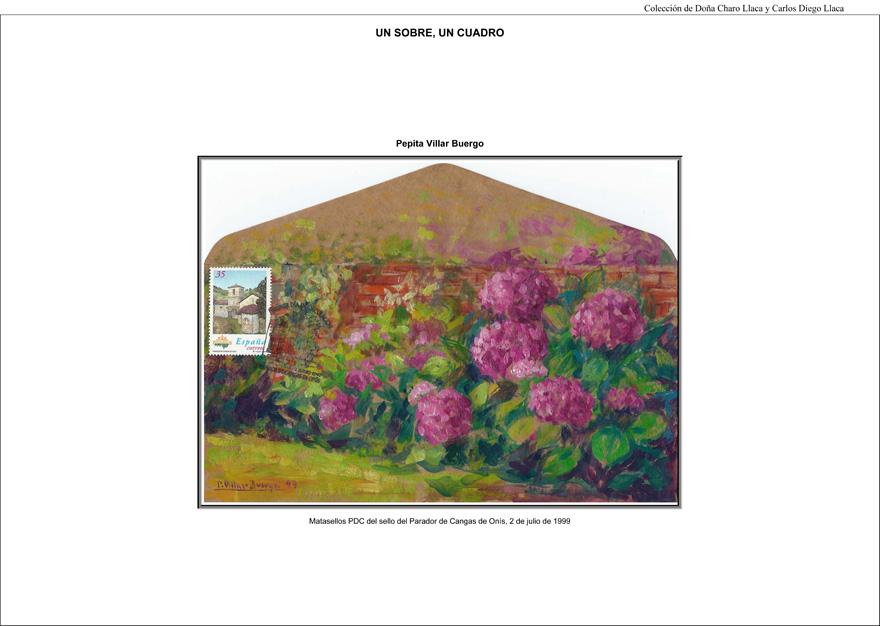 Colección filatélica Un sobre, un cuadro