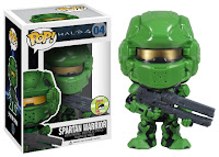 Funko Pop! Spartan Warrior Green sdcc 2013