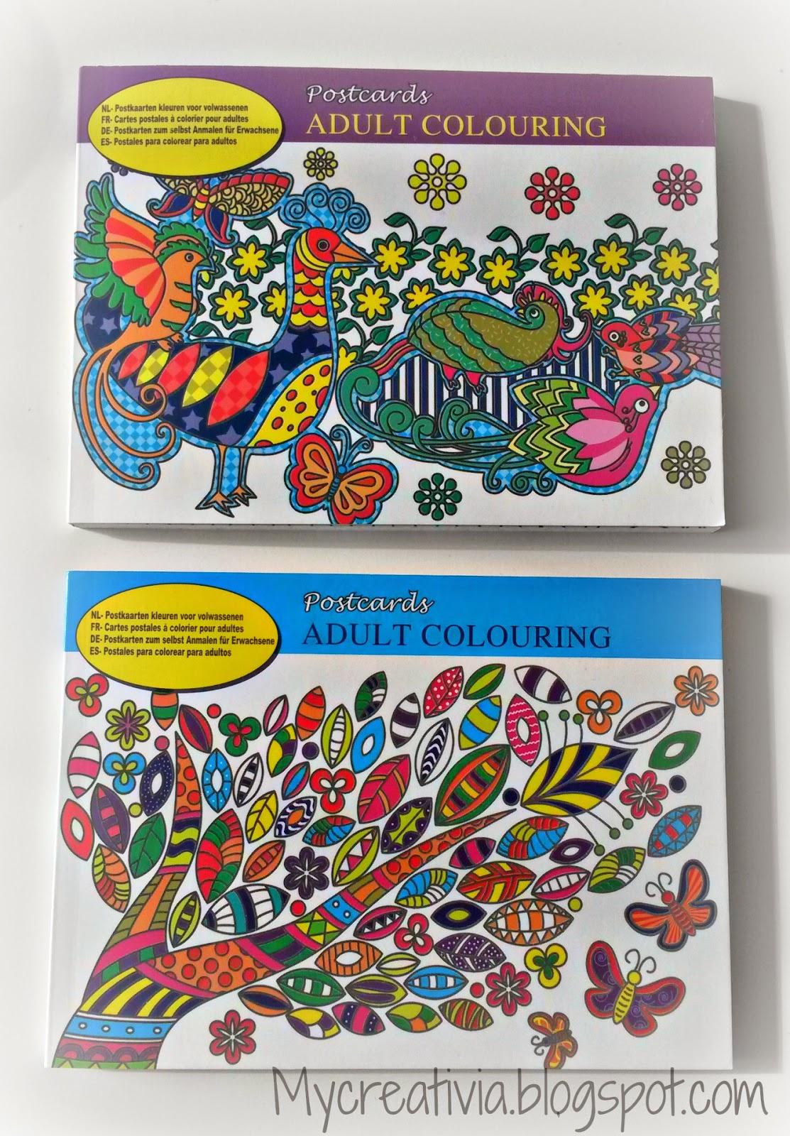 My creativia action postkaarten voor volwassenen - Idee voor volwassenen ...