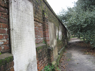 cemetery wall