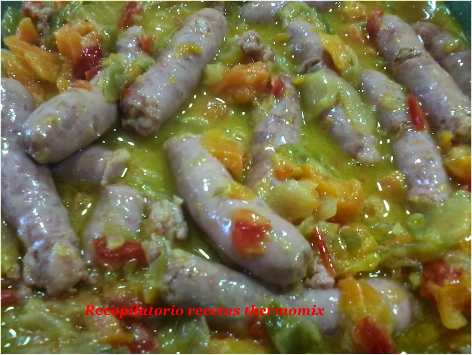 Recopilatorio de recetas thermomix salchichas frescas con - Salchichas frescas en salsa ...