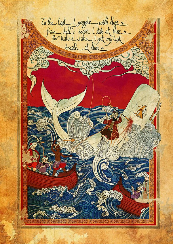 Murat Palta - Incarnated by Words - Moby Dick || #LibrosPOP - LasMilVidas
