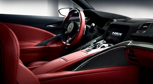2017 Acura NSX Type R Interior