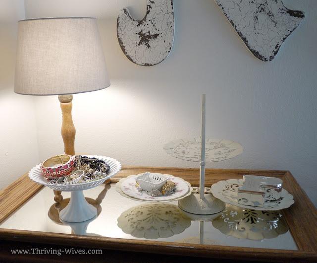 vintage home decor jewelry holders