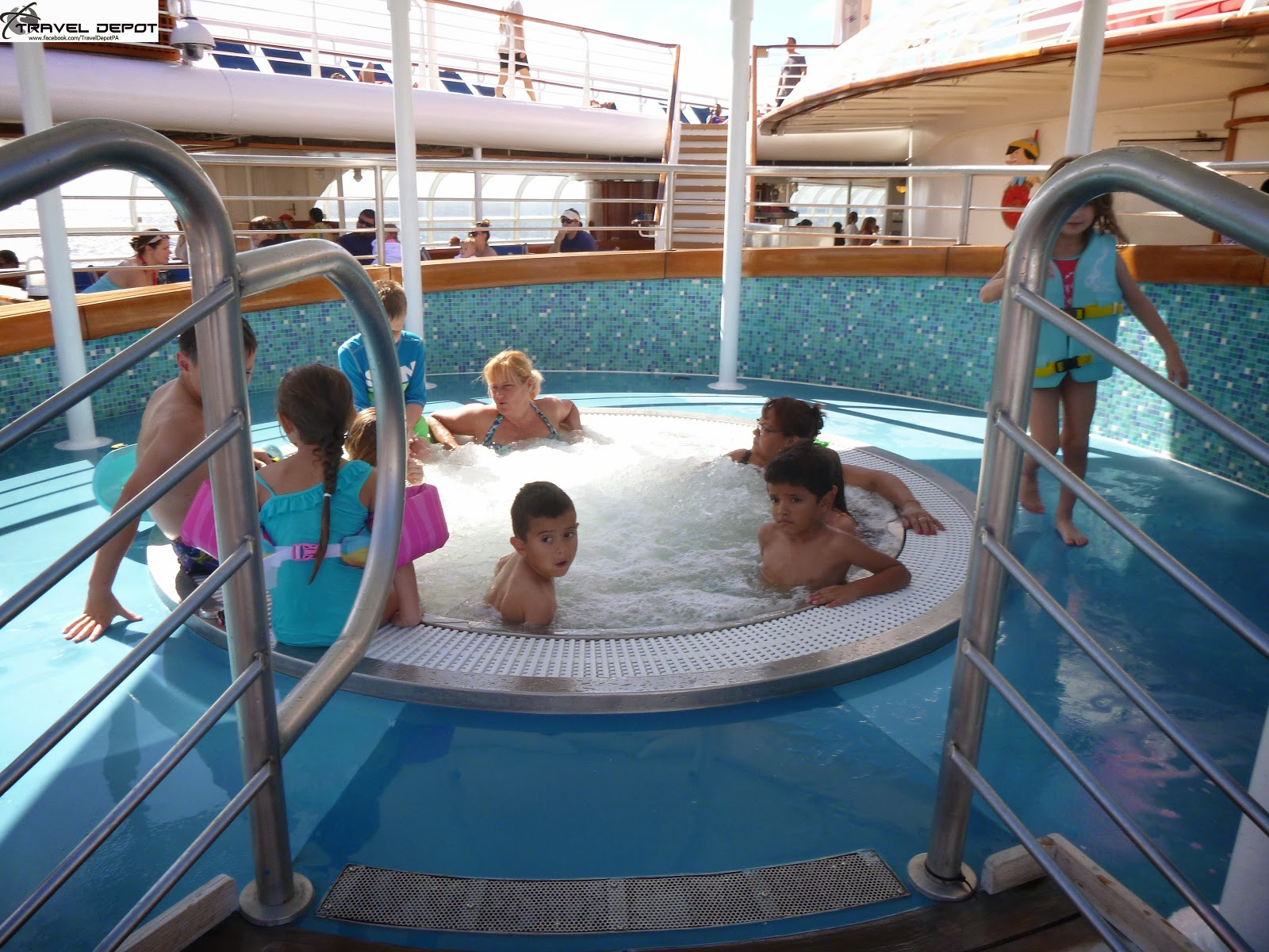 Pool areas aboard the disney magic cruise ship travel depot - Least crowded swimming pool singapore ...