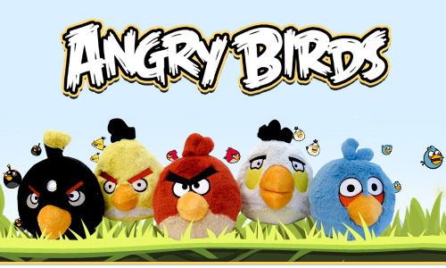 Angry Birds Plushies