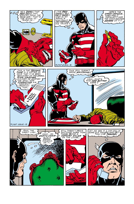 Captain America (1968) Issue #350 #282 - English 18