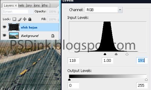 Cara Membuat Efek Hujan dengan Photoshop