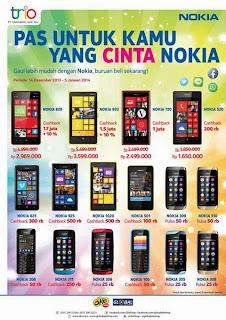 Nokia Cashback Hingga Rp 2 jutaan