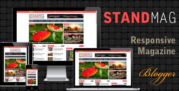 download Stand Mag - Responsive Blogger Magazine Template
