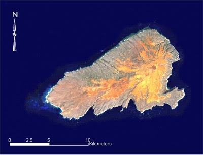 Kahoolawe satellite map