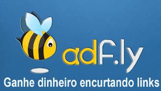 ganhar dinheiro com o programa de afiliados AdF.ly- encurtador de links