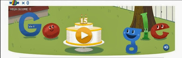 Happy 15th Birthday Google