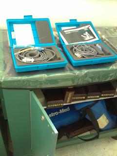 Equipo que comprobamos era para estudiar medicina, aqui en el lab de ingenieria de la Anahuac Cancun