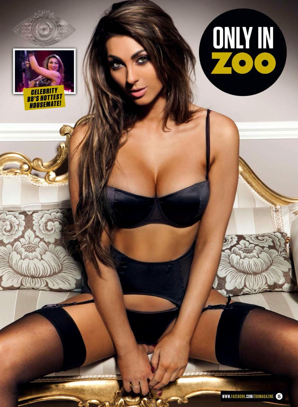 Luisa Zissman HQ Pictures Zoo UK Magazine Photoshoot February 2014